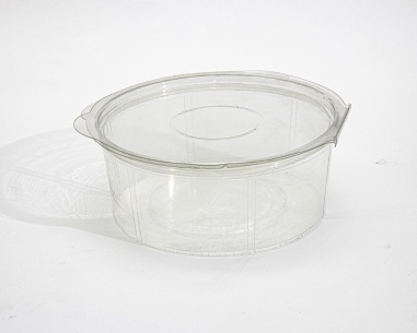 Round box with connected lid | SN: 1274-551