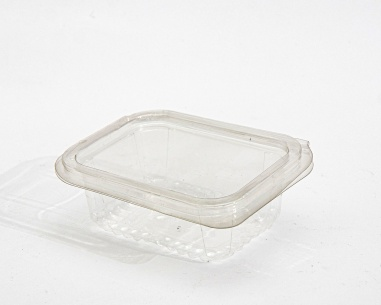 Rectangular box with flat connected lid | SN: 150CCW