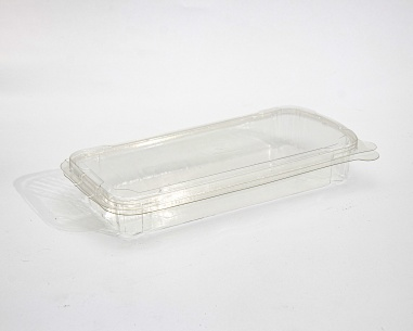 Rectangular box with flat connected lid | SN: 1291-501