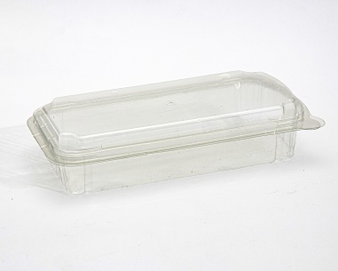 Rectangular box with connected lid | SN: 1291-40
