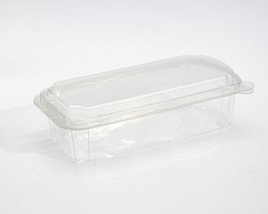 Rectangular box with connected lid | SN: 1291-50