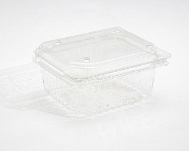 علبة فراولة سعة 250 غم  بغطاء مسطح متصل | SN: 1210