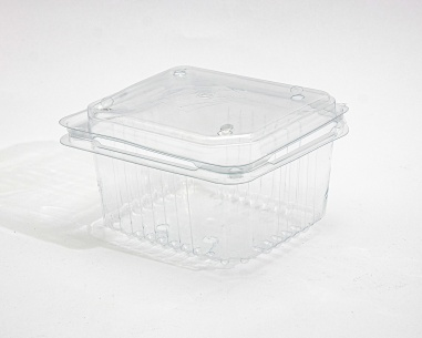 250 gm rectangular strawberry box, with dome connected lid |  SN: 1211
