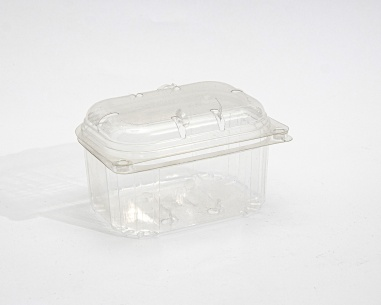 250 gm Strawberry container with connected lid | SN: 1298